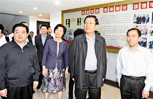 张德江与重庆民主党派等座谈 要求增进政治共识 开创多党...